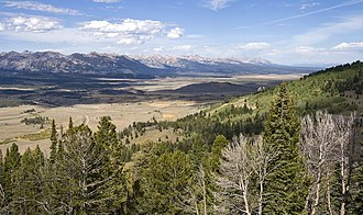 Sawtooth National Recreation Area - Image: Sawtooth Valley ID1