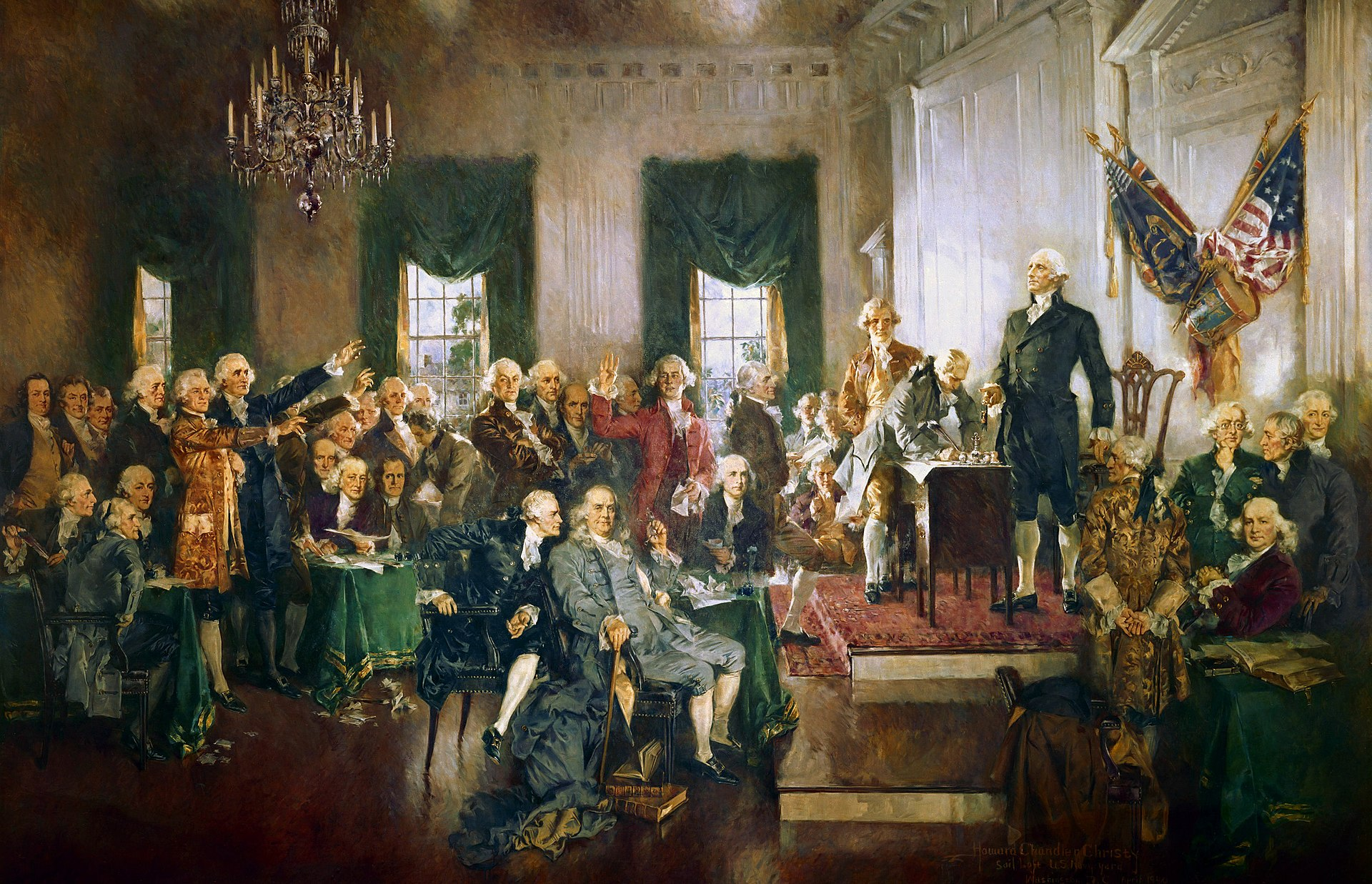 National Archives - Signing of the Constitution