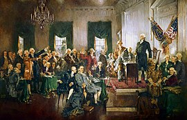Signing the Constitution, September 17, 1787