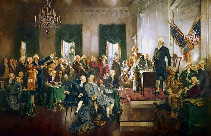 Scene at the Signing of the Constitution of the United States Scene at the Signing of the Constitution of the United States.jpg