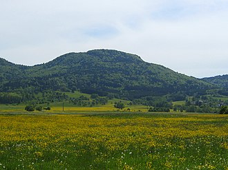 Schafberg (Swabian Jura) - Image: Schafberg (Schwäbische Alb)