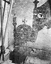 schildering op tussenmuur, noord-transept west-zijde - amsterdam - 20012833 - rce