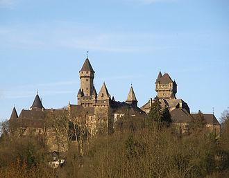 Solms-Braunfels - Image: Schloss Braunfels 2