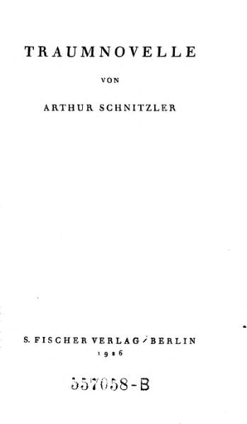 File:Schnitzler Traumnovelle.djvu