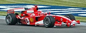 Ferrari di Formula 1 nel 2005
