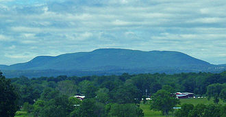 Schunemunk Mountain - Schunemunk Mountain from across the Hudson River