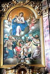 Glory of Virgin Mary by Johann Mathias Kager.