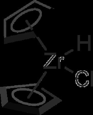 Bent metallocene - Image: Schwartz's Reagent