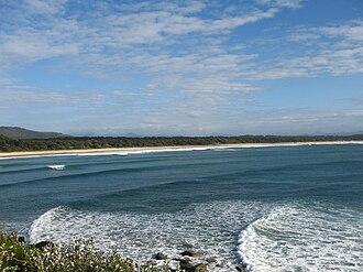 Scotts Head, New South Wales - Scotts Head beach looking north