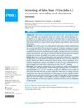 Screeninging of faba bean accessions to acidity and aluminium stresses.pdf