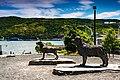 Sculptures Of Newfoundland Dog St John Newfoundland (40650877374).jpg