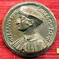 Scuola romana sotto leone X, medaglia di giuliano de' medici duca di nemours.JPG