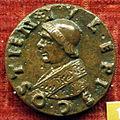 Scuola romana sotto sisto IV, medaglia di giuliano della rovere cardinale (poi giulio II).JPG