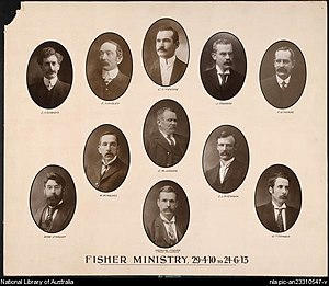 Second Fisher Ministry - Image: Secondminfish