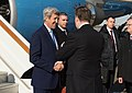 Secretary Kerry Is Greeted by Russian Officials Upon His Arrival to Moscow for Meetings With Russian President Putin and Foreign Minister Lavrov (25378307563).jpg