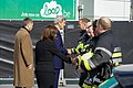 Secretary Kerry Shakes Hands With an Honor Guard of First Responders After Laying a Wreath at the Brussels National Airport Terminal Attacked by Terrorists on March 22 (26002496766).jpg
