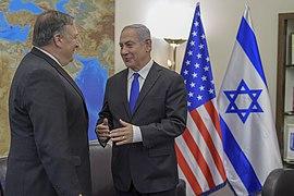 Secretary Pompeo Speaks with Israeli Prime Minister Netanyahu (27909467908)