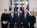 Secretary Tillerson and Secretary Mattis Pose for a Photo With Their Australian Counterparts at the AUSMIN Dinner in Sydney (34981787811).jpg