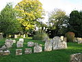 Section of St Mary's church graveyard - geograph.org.uk - 1570959.jpg