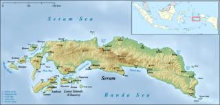 Amahai,  Maluku, Индонезия