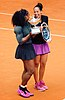 Serena Williams and Madison Keys Rome Masters 2016.jpg