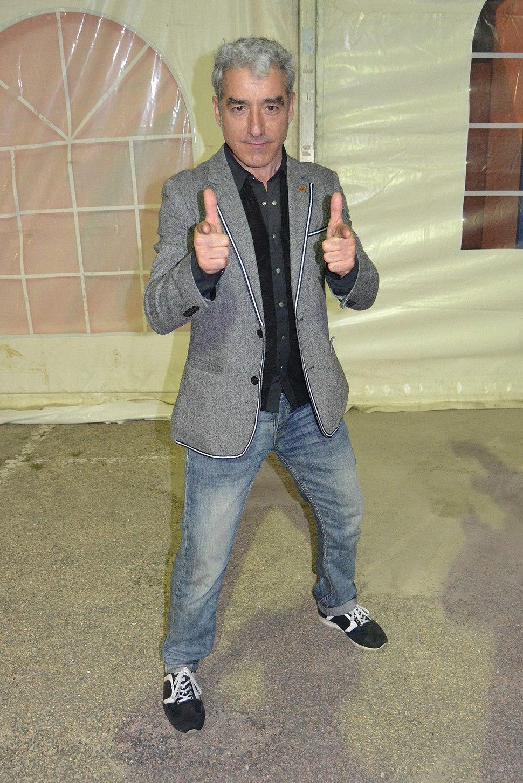 Sergio Pazos na Festa da Langosta