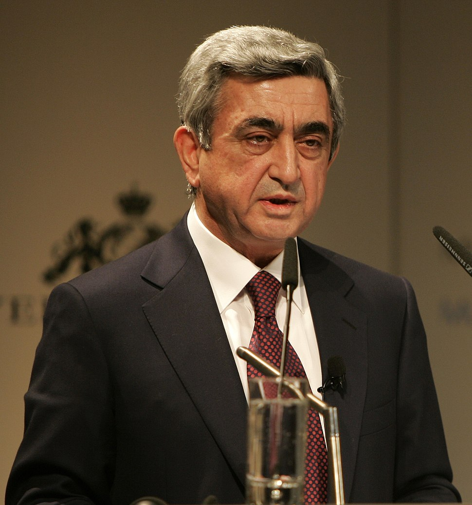 Serzh Sargsyan 2009