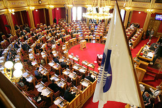Nordic countries - Nordic Council in session at the Parliament of Norway in 2007