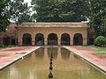 Shalamar Garden July 14 2005-Western wall pavilion on the first level.jpg