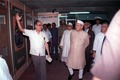 Shankar Dayal Sharma Visits Indian Heritage Exhibition - Dedication Ceremony - CRTL and NCSM HQ - Salt Lake City - Calcutta 1993-03-13 12.tif