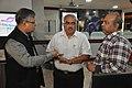 Shantanu Ganguly Along With Shrikant Pathak And Manash Bagchi Visiting NDL - NCSM - Kolkata 2017-12-13 6275.JPG
