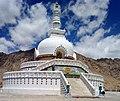 Shanti Stupa in leh.jpg