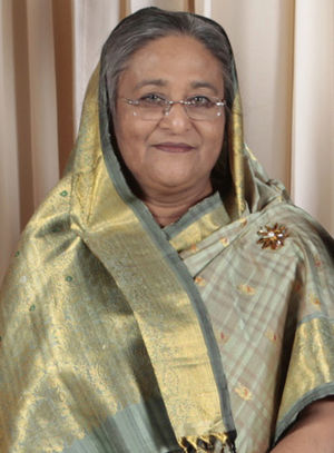 English: Sheikh Hasina