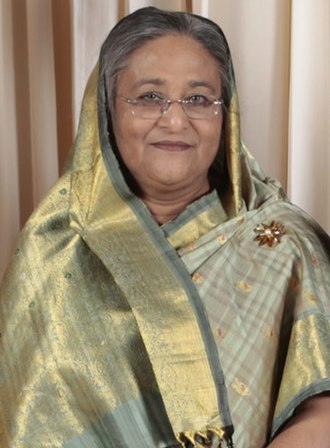 18th SAARC summit - Image: Sheikh Hasina 2009