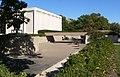 Sheldon Gallery (Lincoln, NE) sculpture garden from SW 1.JPG