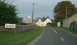 Shinrone on the R491, County Offaly