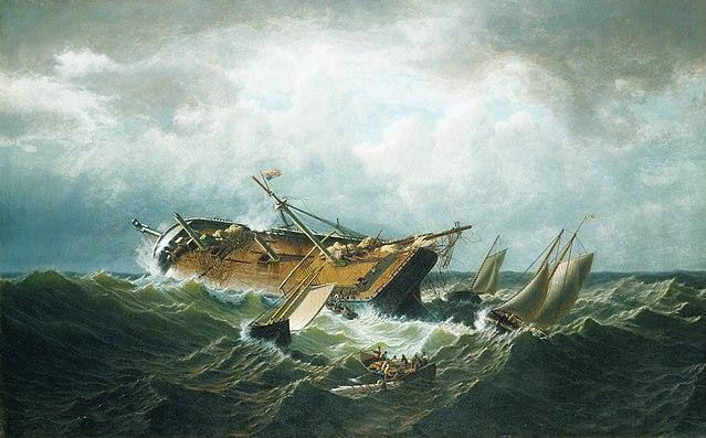 Famous Shipwreck Painting