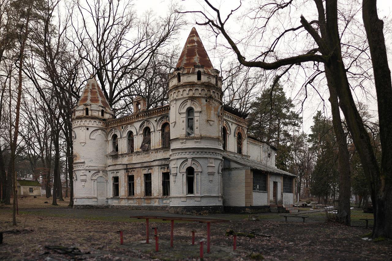 Руины дачи советника правления Киево-Ковельськой железной дороги Штамма