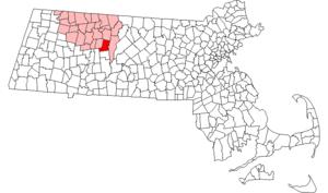 Shutesbury, Massachusetts - Image: Shutesbury ma highlight
