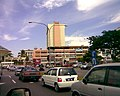 Sibu town centre along Jalan Pedada, near the Sibu gateway.jpg