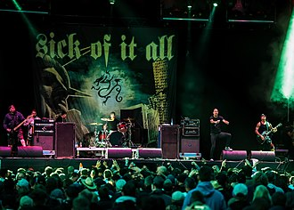 Sick of It All - Sick of It All playing at Reload Festival 2018.