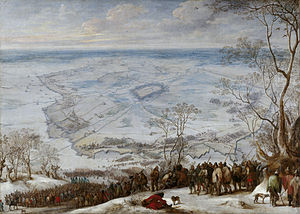 Battle of La Marfée - Siege of Aire-sur-la-Lys by Pieter Snayers.