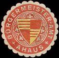 Siegelmarke Bürgermeister-Amt Ahaus W0384009.jpg