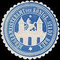 Siegelmarke Bürgermeisteramt der Königl. Stadt Brüx W0343105.jpg