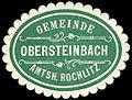 Siegelmarke Gemeinde Obersteinbach - Amtshauptmannschaft Rochlitz W0252452.jpg