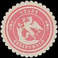 Siegelmarke Stadt Greifswald W0334278.jpg