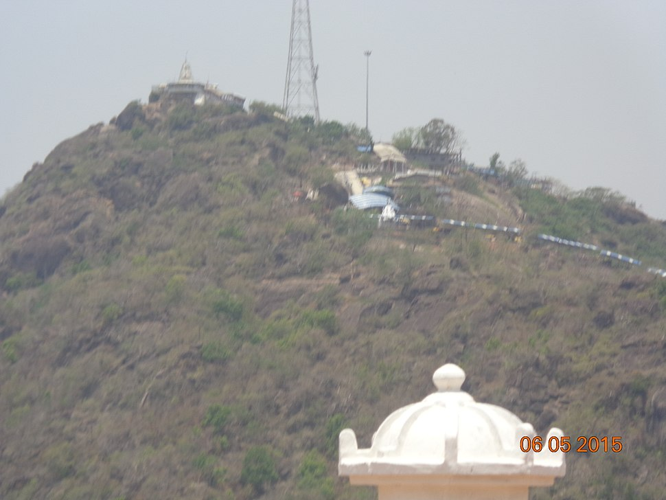 Sight of bamblesvari from pragyagiri