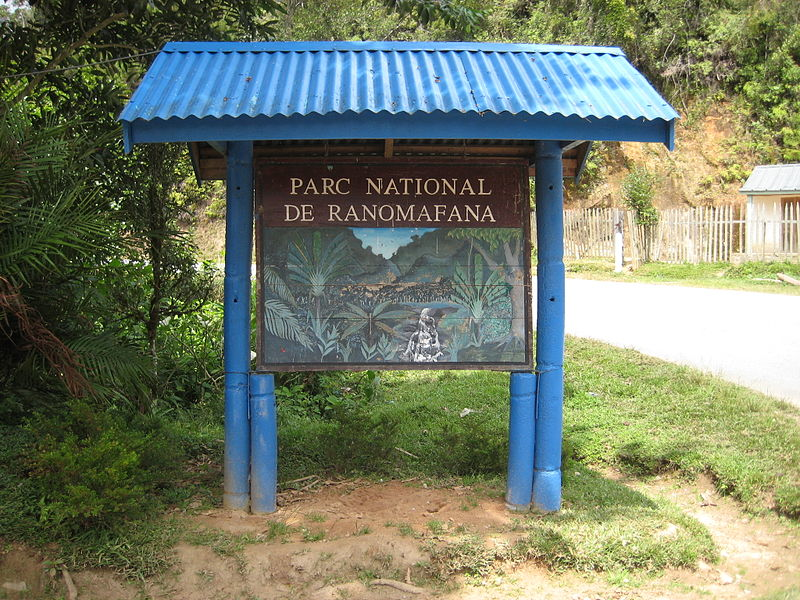 File:Sign At Entrance To Ranomafana National Park.jpg
