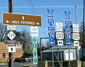 Signs along NC 705 Pottery Highway.jpg