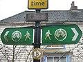 Signs in Hamstreet - geograph.org.uk - 1722820.jpg
